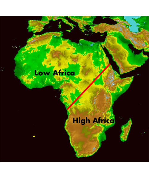 Lesson 7: Climates of Africa - Forming of the Sahara Desert