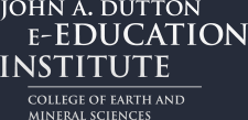 John A. Dutton e-Education Institute